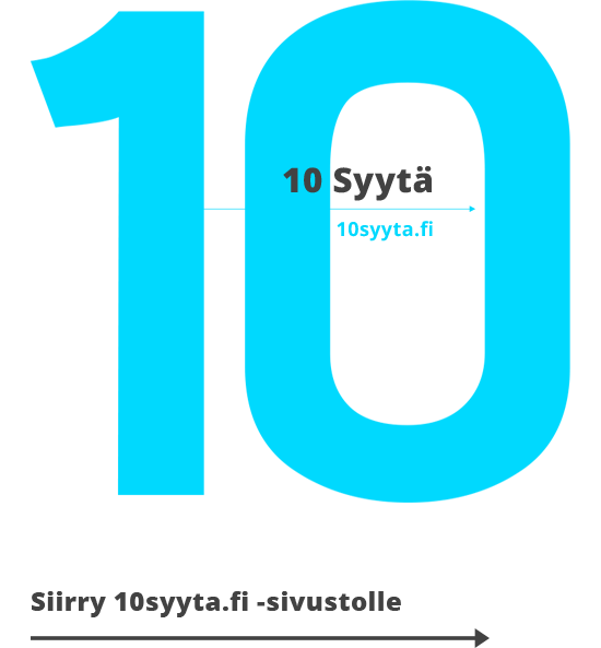 10 Syytä